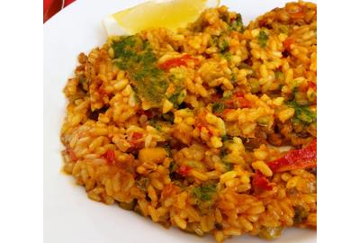 Ricetta light - Paella vegetariana