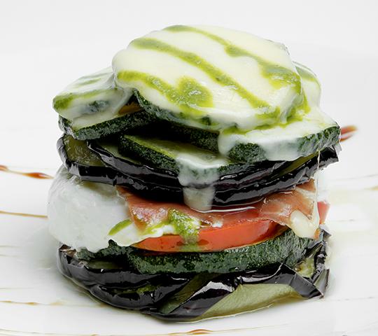 Ricetta light - Millefoglie di verdure