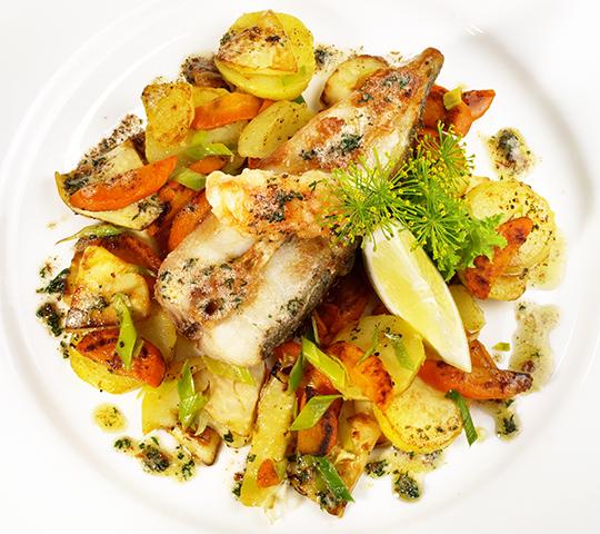 Ricetta light - Rombo con verdure al cartoccio