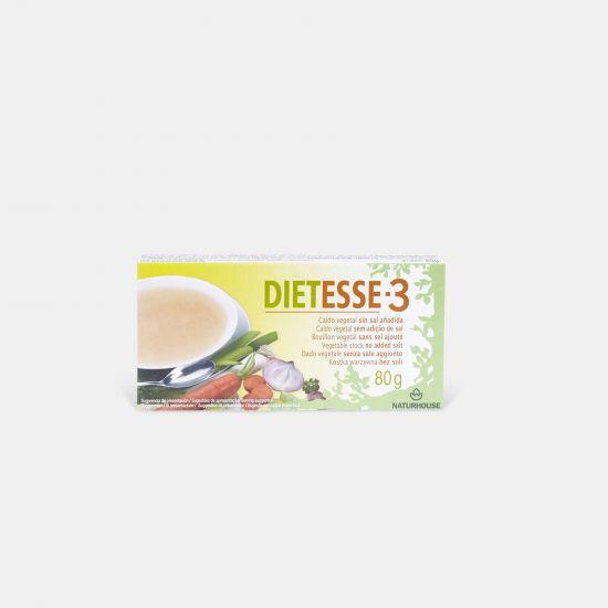 Brodo vegetale senza sale e glutammato - Dietesse