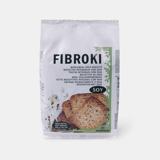 Pane e Cracker di Soia - Biscotti Fibroki