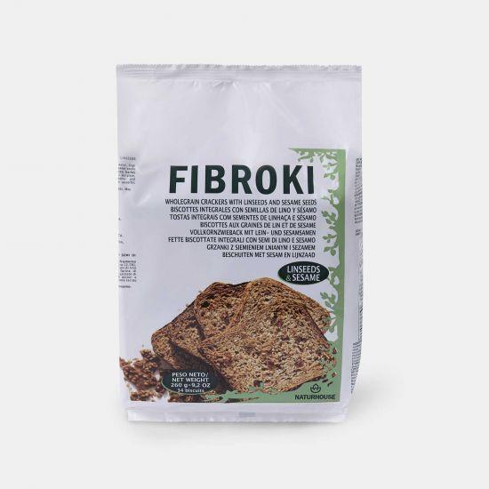 Pane al sesamo con semi di lino - Biscotti Fibroki