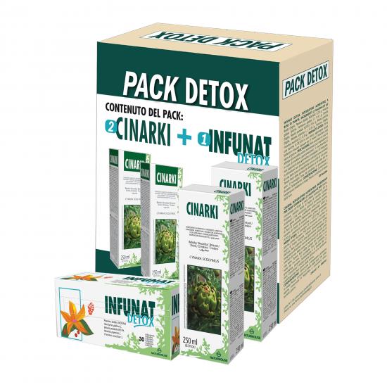Pack Detox NaturHouse - Integratore al carciofo depurativo