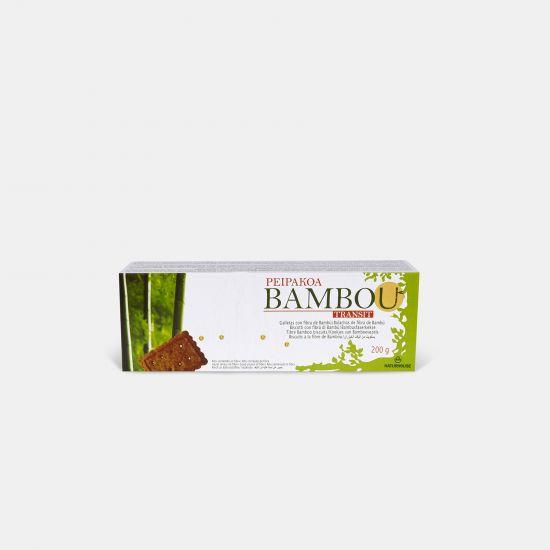 Biscotti con farina integrale e fibre - Peipakoa Bambou Transit