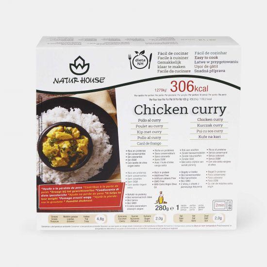 Riso con pollo al curry - Piatti Pronti